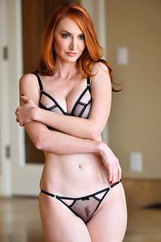 Sexy Redhead MLF Kendra