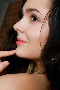 Raven Haired Beauty Bridgette Angel