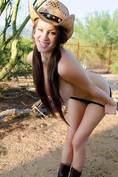 Farm Girl Talia Shepard