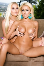 Riley Evans and Breanne Benson blonde babes