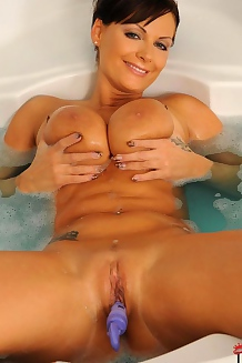 Sheila Grant Taking Bath