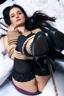 Boundaged Girl Eva Kahil