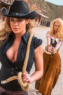 Jessa Rhodes In Wild West Cosplay Porn Action
