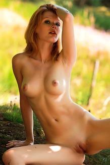 Vivacious redhead Mia Sollis
